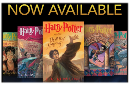 Now available: Harry Potter series on EPUB and eAudio book